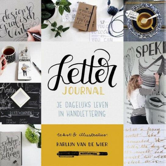 (No. 830500) Boek Letter Journal