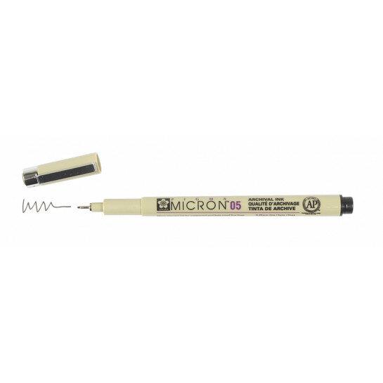 (No. XSDK0549) Pigma Micron zwart 0,45mm