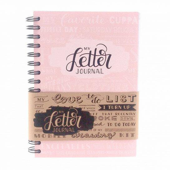 (No. 830104) A5 Bulletjournal 'My Letter Journal' Blossom