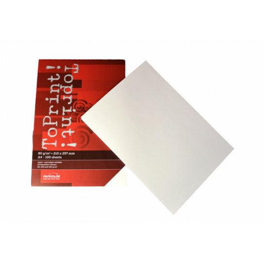(No. 7128300) 100x papier ToPrint 80gr 210x297mm-A4 White(FSC Mix Credit)