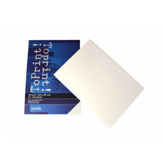 (No. 7138300) 100x papier ToPrint 120gr 210x297mm-A4 White(FSC Mix Credit)