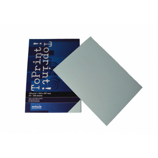 (No. 7138314) 100x papier ToPrint 120gr 210x297mm-A4 Azul(FSC Mix Credit)