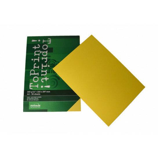 (No. 7148305) 50x karton ToPrint 160g 210x297mm-A4 Limon(FSC Mix Credit)