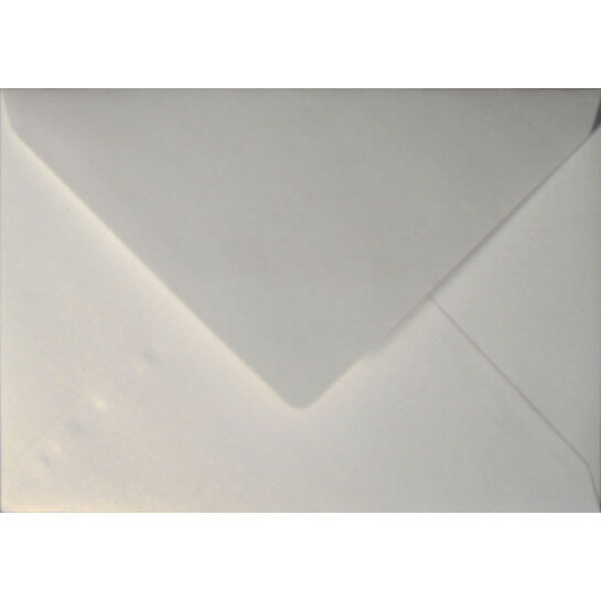 (No. 235330) 50x envelop Original Metallic 156x220mm-EA5 Pearlwhite 120 grams