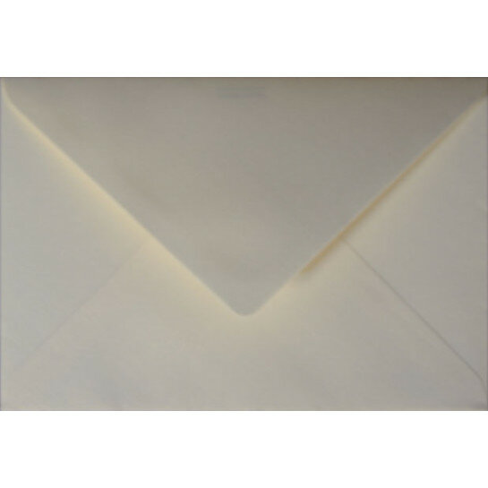 (No. 235331) 50x envelop Original Metallic 156x220mm-EA5 Ivory 120 grams