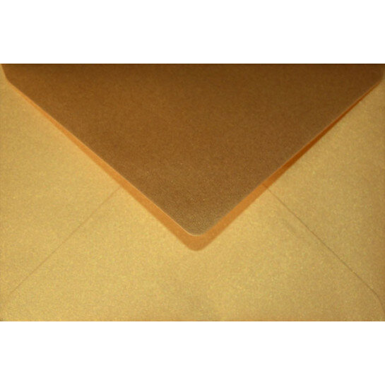 (No. 241333) 25x envelop Original Metallic 125x180mmB6 Super Gold 120 grams (FSC Mix Credit)