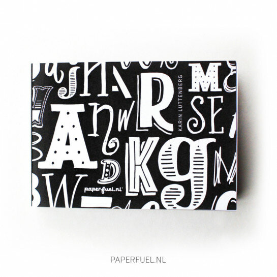(No. 216803) A6 Oefenblok Handlettering