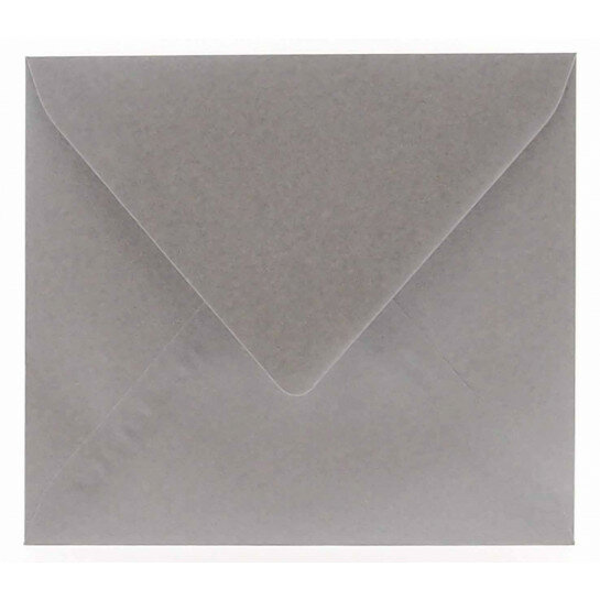 (No. 263340) 50x envelop Original Metallic 125x140mm Platinum Pearl 120 grams (FSC Mix Credit)