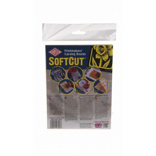 (No. 340800/10103) SoftCut sheet 2 sheets 200x150x3,0 mm