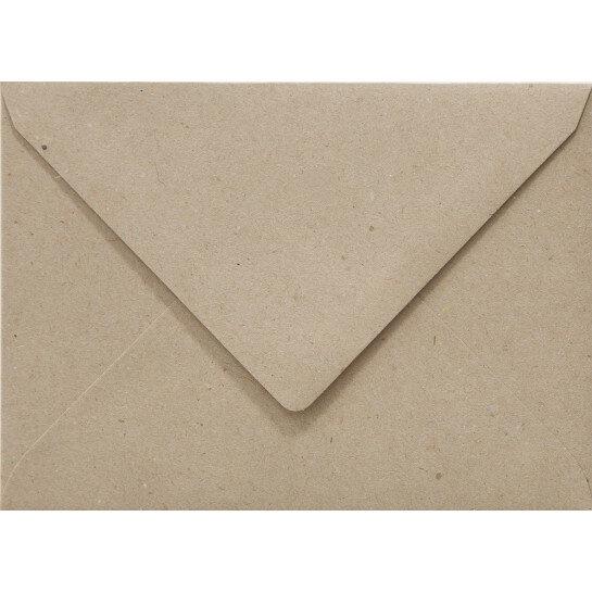 (No. 263322) 50x envelop Original 125x140mm recycled grijs 100 grams (FSC Recycled 100%)