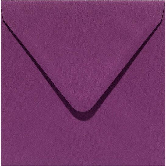 (No. 240909) 50x envelop 160x160mm Original aubergine 105 grams (FSC Mix Credit)