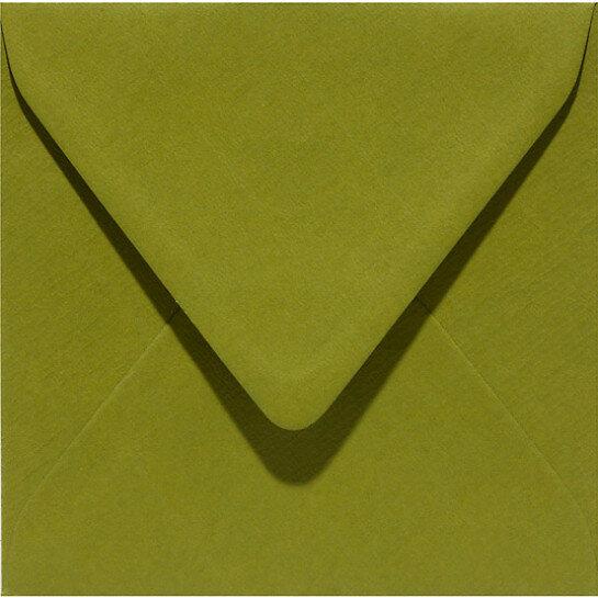 (No. 304951) 6x envelop Original 160x160mm mosgroen 105 grams (FSC Mix Credit)