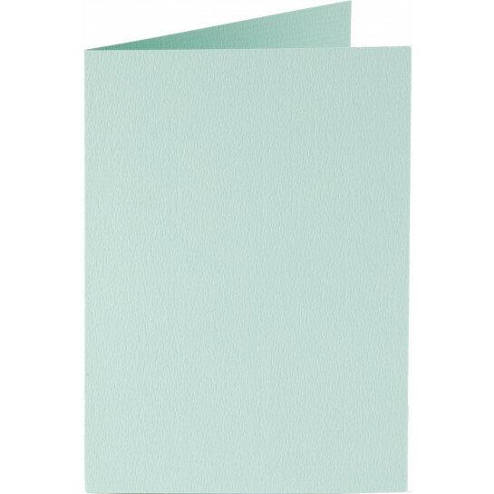 (No. 222917) 50x kaart dubbel staand 105x148mm- A6 zeegroen 200 grams (FSC Mix Credit)
