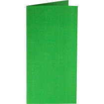 (No. 242907) 50x kaart dubbel staand Original 115x175mm grasgroen 200 grams