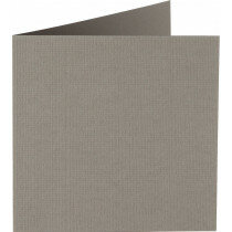 (No. 310944) 6x kaart dubbel Original 132x132mm muisgrijs 200 grams (FSC Mix Credit)