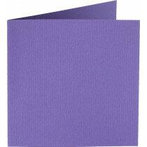 (No. 260946) 50x kaart dubbel Original 132x132mm paars 200 grams