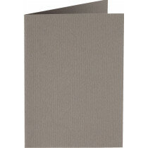 (No. 222944) 50x kaart dubbel staand 105x148mm- A6 muisgrijs 200 grams (FSC Mix Credit)