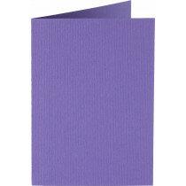 (No. 206946) 50x kaart dubbel staand Original 148x210mmA5 paars 200 grams (FSC Mix Credit)