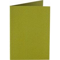 (No. 222951) 50x kaart dubbel staand 105x148mm- A6 mosgroen 200 grams (FSC Mix Credit)