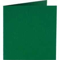 (No. 265950) 50x kaart dubbel staand Original 120x132mm dennengroen 200 grams (FSC Mix Credit)