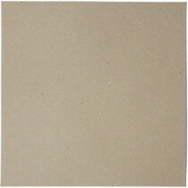 (No. 264322) 50x scrap karton recycled kraft grijs 302 x 302 mm - 220 grams (FSC Recycled Credit)