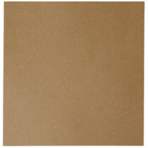 (No. 264323) 50x scrap karton recycled kraft bruin 302 x 302 mm - 220 grams (FSC Recycled Credit)