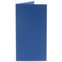 (No. 220972) 50x kaart dubbel staand Original 105x210mm (EA5/6) royal blue 200 grams