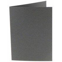 (No. 222971) 50x kaart dubbel staand Original 105x148mm A6 donkergrijs 200 grams (FSC Mix Credit)