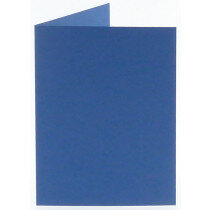 (No. 222972) 50x kaart dubbel staand Original 105x148mm A6 royal blue 200 grams (FSC Mix Credit)