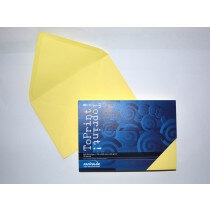 (No. 2358304) 25x envelop 156x220mm-A5 ToPrint medium yellow 120 grams (FSC Mix Credit)