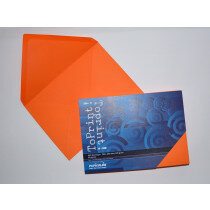 (No. 2358308) 25x envelop 156x220mm-A5 ToPrint orange 120 grams (FSC Mix Credit)