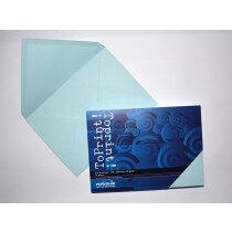 (No. 2358314) 25x envelop 156x220mm-A5 ToPrint lichtblauw 120 grams (FSC Mix Credit) - UITLOPEND-