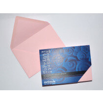 (No. 2378302) 25x envelop 114x162mm-C6 ToPrint roze 120 grams (FSC Mix Credit) - UITLOPEND -