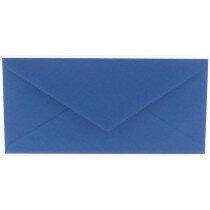 (No. 238972) 50x envelop 110x220mm DL Original royal blue 105 grams (FSC Mix Credit