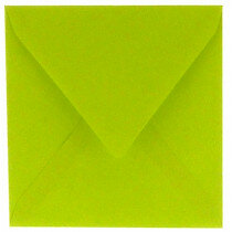 (No. 240967) 50x envelop 160x160mm Original appelgroen 105 grams (FSC Mix Credit)