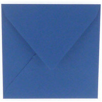 (No. 240972) 50x envelop 160x160mm Original royal blue 105 grams (FSC Mix Credit)