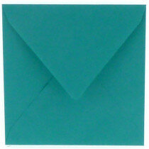 (No. 304966) 6x envelop 160x160mm Original turquoise 105 grams (FSC Mix Credit)