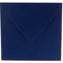 (No. 304969) 6x envelop 160x160mm Original marineblauw 105 grams (FSC Mix Credit)