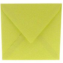 (No. 304970) 6x envelop 160x160mm Original zachtgroen 105 grams (FSC Mix Credit)