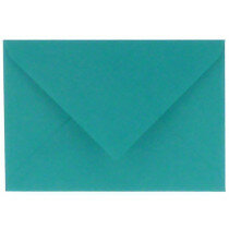 (No. 306966) 6x envelop Original 156x220mm EA5 turquoise 105 grams (FSC Mix Credit)