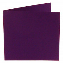 (No. 310968) 6x kaart dubbel Original 132x132mm violetta 200 grams (FSC Mix Credit)