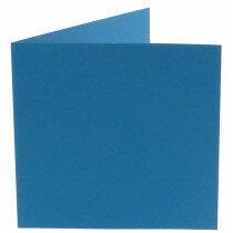 (No. 311965) 6x kaart dubbel staand Original 152x152mm korenblauw 200 grams (FSC Mix Credit)