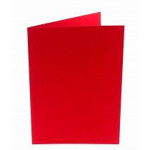 (No. 206918) 50x kaart dubbel staand Original 148x210mmA5 rood 200 grams (FSC Mix Credit)