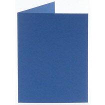 (No. 327972) 6x kaart dubbel staand Original 115x175mm royal blue