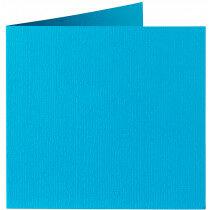 (No. 310965) 6x kaart dubbel Original 132x132mm korenblauw 200 grams (FSC Mix Credit)