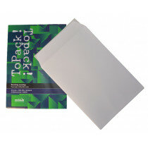 (No. 415240) 10x Bordrug envelop ToPack 240x340mm met striplock - 450grs.