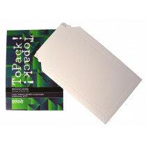 (No. 417175) 5x Kartonnen envelop ToPack 175x250mm - Striplock met tearstrip 450gr