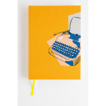 (No. 830702) Bullet journal Graphic Typewriter