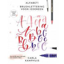 (No. 840501) Alfabet! Brushlettering voor iedereen ISBN: 9789043922227 - Carla Kamphuis