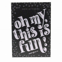 (No. 890015) A5 Designblok Paperfuel 'Oh my, this is fun'
